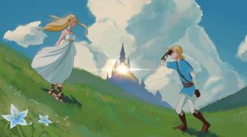 Imagen de The Legend of Zelda: Breath of the Wild y Studio Ghibli se fusionan en este espectacular póster