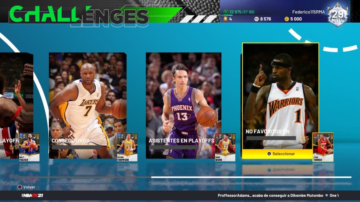 Playoff Underdogs NBA 2K21 MyTeam