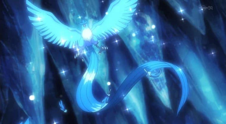 Imagen de Pokémon GO recibe a Articuno como jefe de incursiones