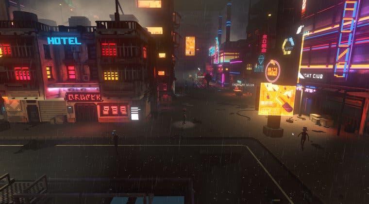Imagen de El título indie de acción futurista Cloudpunk ya tiene fecha de lanzamiento en consolas