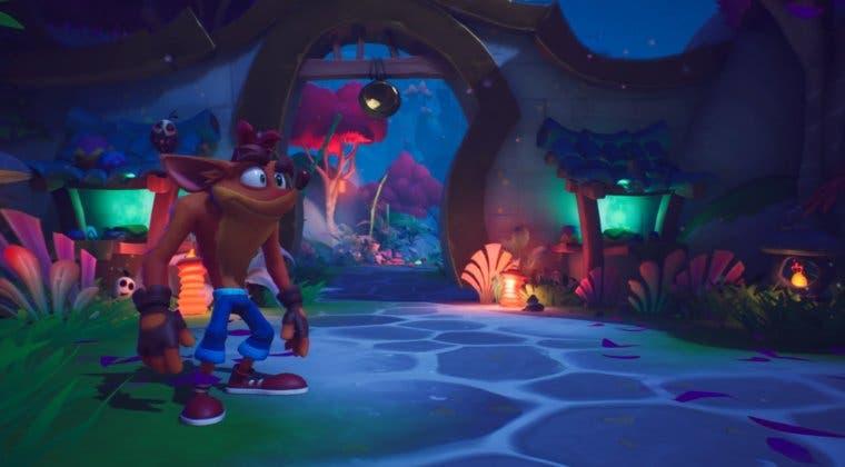 Imagen de Crash Bandicoot 4: It's About Time para PlayStation 5 se muestra en un nuevo gameplay
