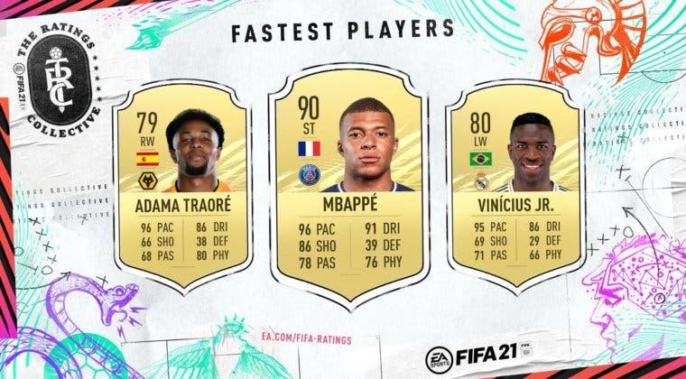 Imagen de FIFA 21: estos son los jugadores más rápidos