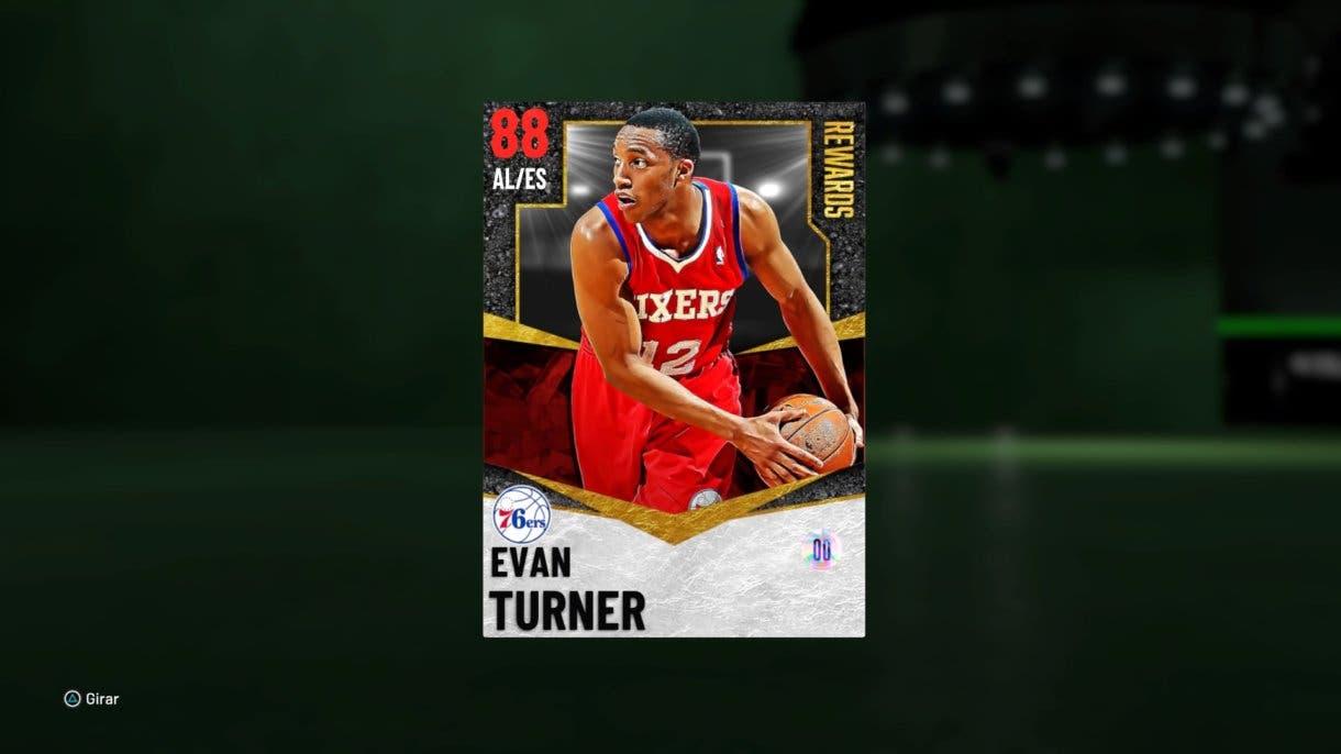 Evan Turner Rubí recompensa NBA 2K21