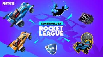 Imagen de Fortnite: cómo conseguir gratis los cosméticos y recompensas del evento de Rocket League