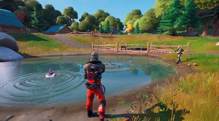 Imagen de Fortnite anuncia una nueva competición de pesca para la Temporada 4
