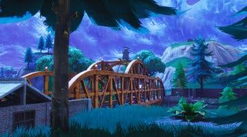Imagen de Fortnite: Baila en los cinco puentes de colores en una misma partida