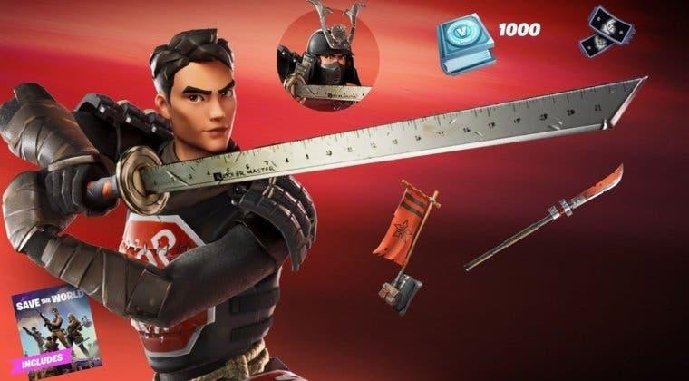 Imagen de Fortnite revela su nuevo Samurai Scrapper Pack: precio, fecha y mucho más