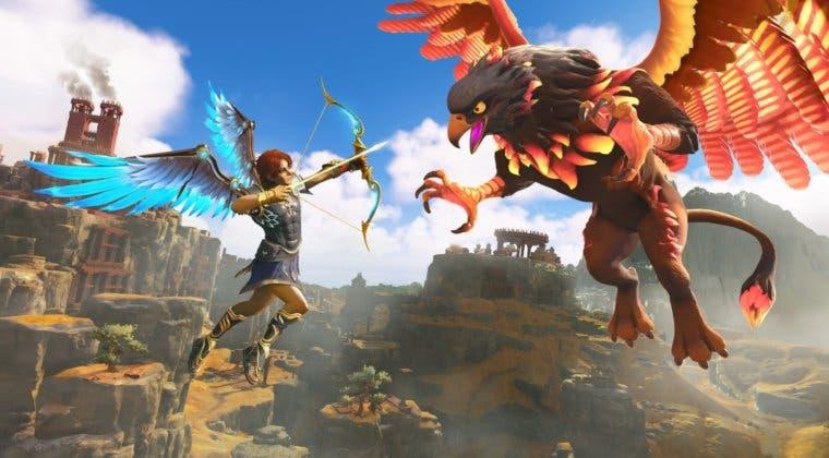 Imagen de El anime de Netflix Sangre de Zeus llega a Immortals: Fenyx Rising con un peculiar evento