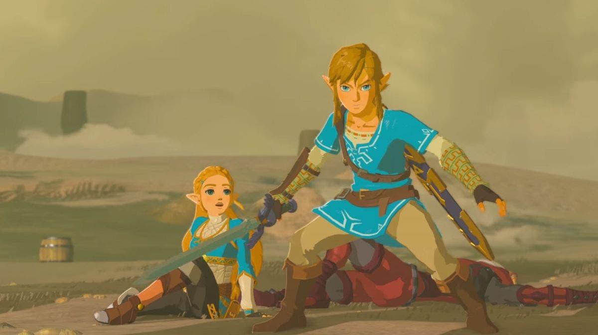 Link y Zelda BotW