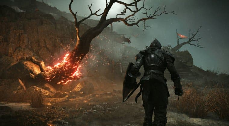 Imagen de Demon's Souls Remake luce sus mejoras respecto al juego original en una nueva comparativa