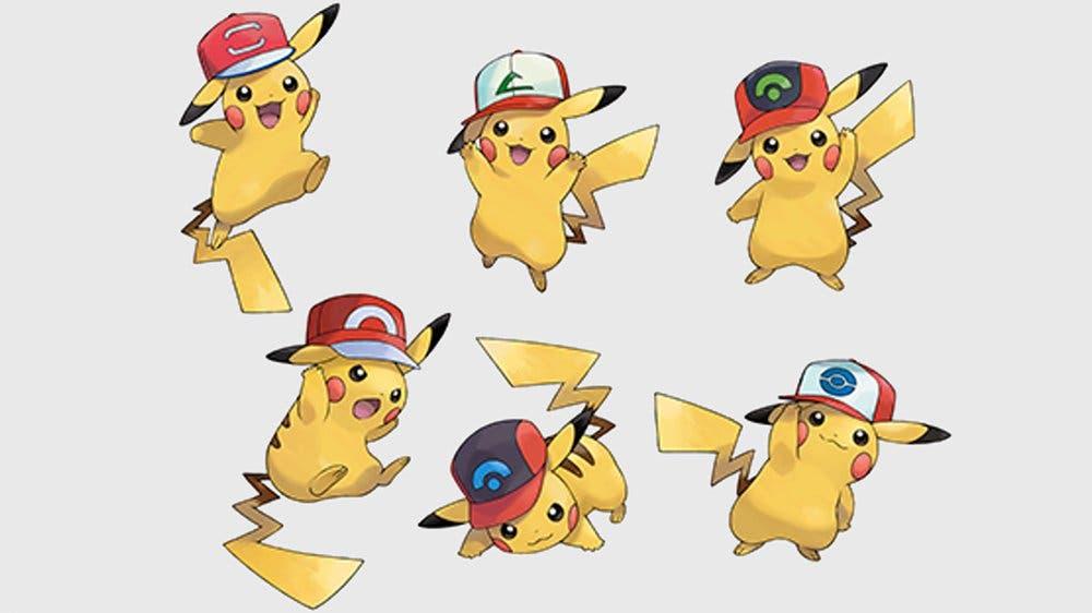 Pikachu Gorra de Ash Pokémon Espada y Escudo