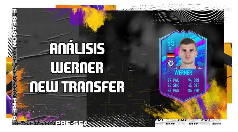 Imagen de FIFA 20: análisis de Timo Werner New Transfer, la nueva carta free to play