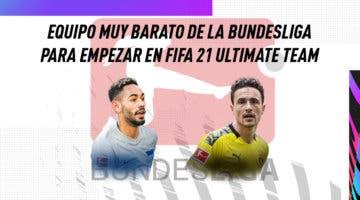 Imagen de FIFA 21: equipo muy barato de la Bundesliga para empezar Ultimate Team