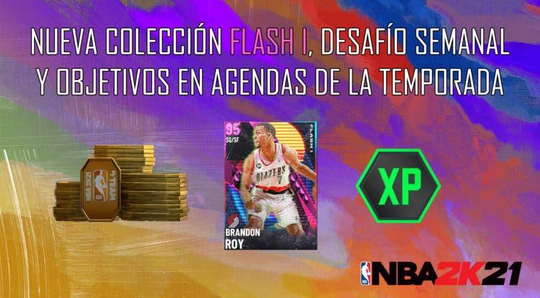 Imagen de NBA 2K21 MyTeam: nueva colección Flash I, desafío semanal y objetivos en Agendas de la Temporada