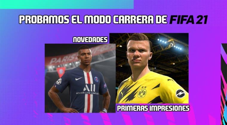 Imagen de FIFA 21: probamos el Modo Carrera y sus novedades