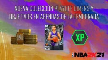 Imagen de NBA 2K21 MyTeam: nueva colección Playoff Dimers y objetivos en Agendas de la Temporada