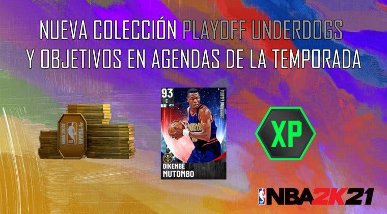"""Imagen de NBA 2K21 MyTeam: nueva colección Playoff Underdogs, desafío """"Bajo los focos"""" y objetivos en Agendas de la Temporada"""