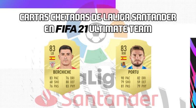 Imagen de FIFA 21: cartas chetadas de la Liga Santander