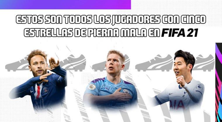 Imagen de FIFA 21: estos son todos los jugadores con cinco estrellas de pierna mala