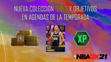 Imagen de NBA 2K21 MyTeam: nueva colección Idols y objetivos en Agendas de la Temporada