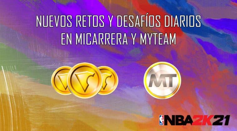 Imagen de NBA 2K21: nuevos retos y desafíos diarios en MiCarrera y MyTeam (17/09/2020)