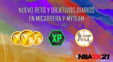 Imagen de NBA 2K21: nuevo reto y objetivos diarios en MiCarrera y MyTeam (22/09/2020)