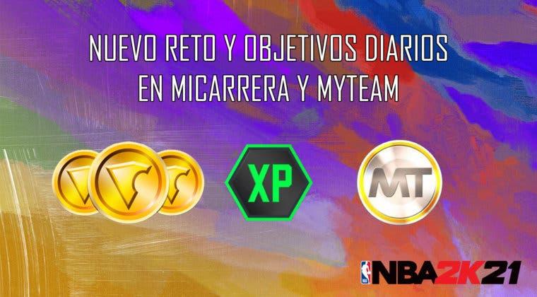 Imagen de NBA 2K21: nuevo reto y objetivos diarios en MiCarrera y MyTeam (23/10/2020)