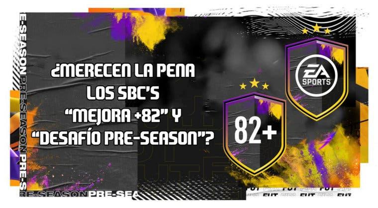 """Imagen de FIFA 20: ¿Merecen la pena los SBC's """"Mejora +82"""" y """"Desafío Pre-Season""""?"""