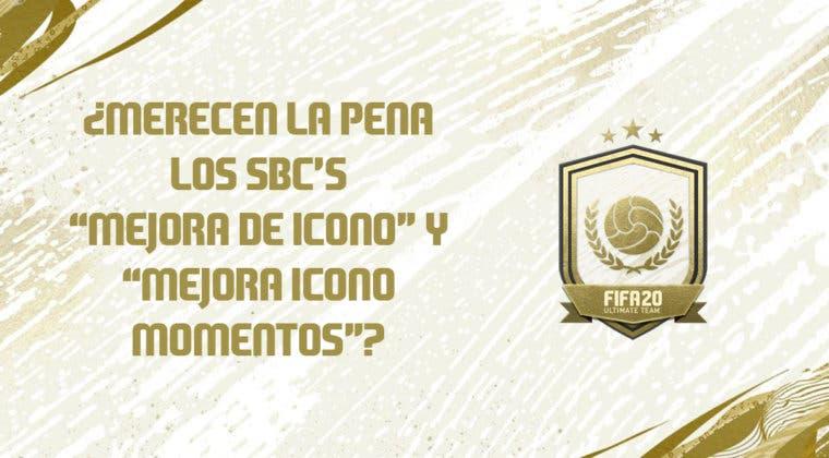 """Imagen de FIFA 20: ¿Merecen la pena los SBC's """"Mejora de Icono"""" y """"Mejora de Momentos de Icono""""?"""