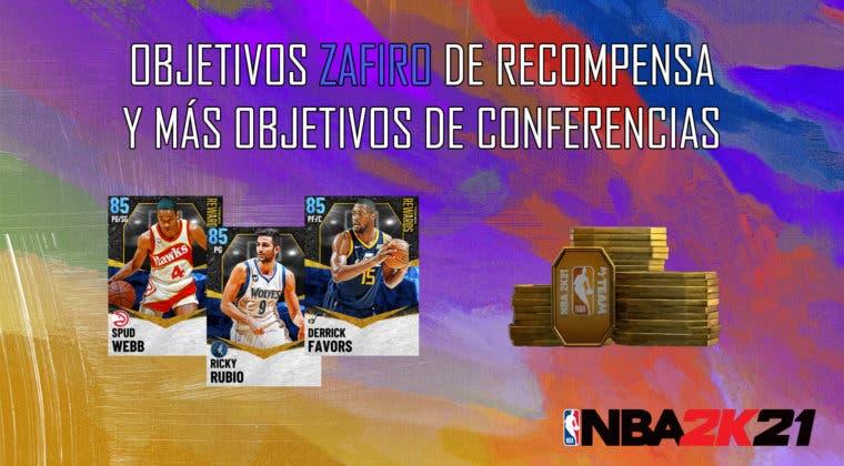 Imagen de NBA 2K21 MyTeam: nuevos objetivos con los zafiros de tokens y más objetivos de conferencias