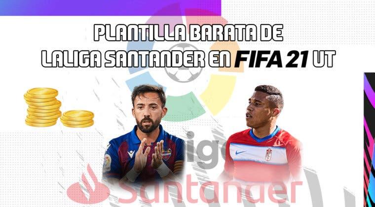 Imagen de FIFA 21: equipo muy barato de la Liga Santander para empezar Ultimate Team