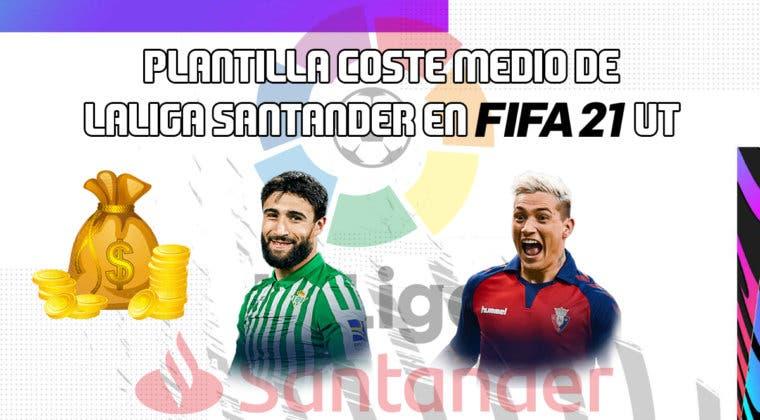 Imagen de FIFA 21: equipo de nivel medio de la Liga Santander
