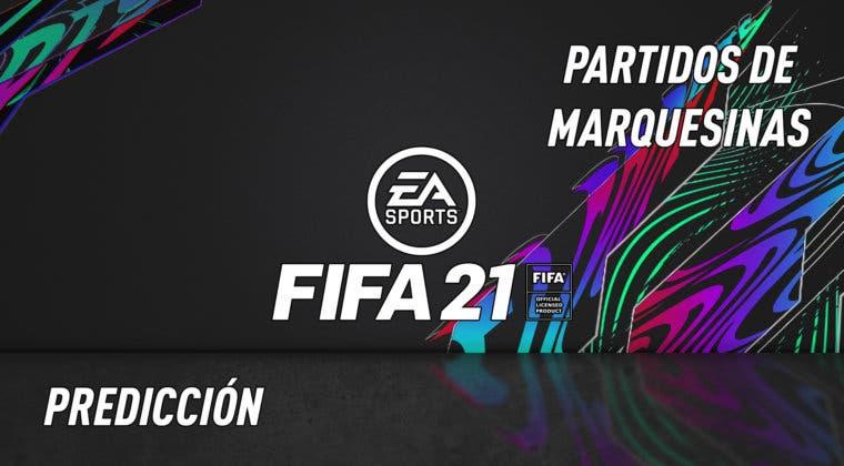 """Imagen de FIFA 21: predicción del SBC """"Partidos de Marquesina"""" (19-11-2020)"""