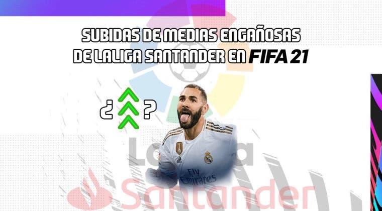 Imagen de FIFA 21 Ultimate Team: las dos subidas de medias engañosas de la Liga Santander