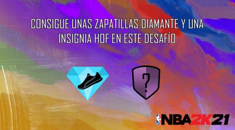Imagen de NBA 2K21 MyTeam: consigue unas zapatillas diamantes y una insignia HOF con el desafío de Damian Lillard