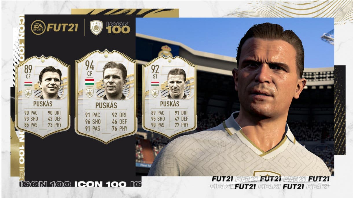 Ferenc Puskás Icono FIFA 21 Ultimate Team