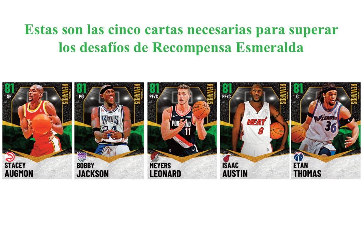 Recompensas Esmeralda objetivos NBA 2K21 MyTeam