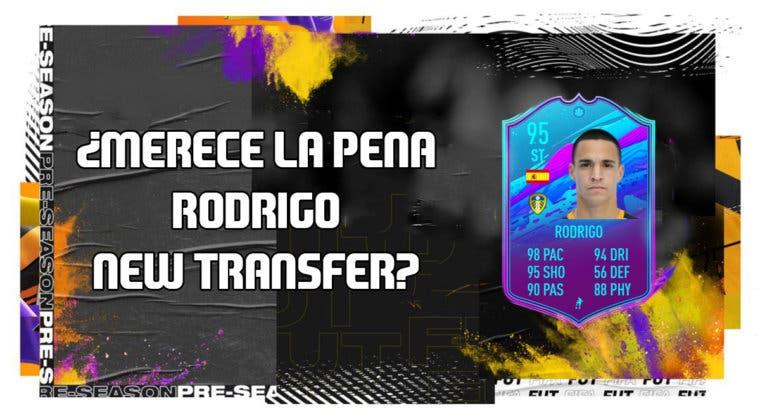 Imagen de FIFA 20: ¿Merece la pena Rodrigo New Transfer? + Solución de su SBC