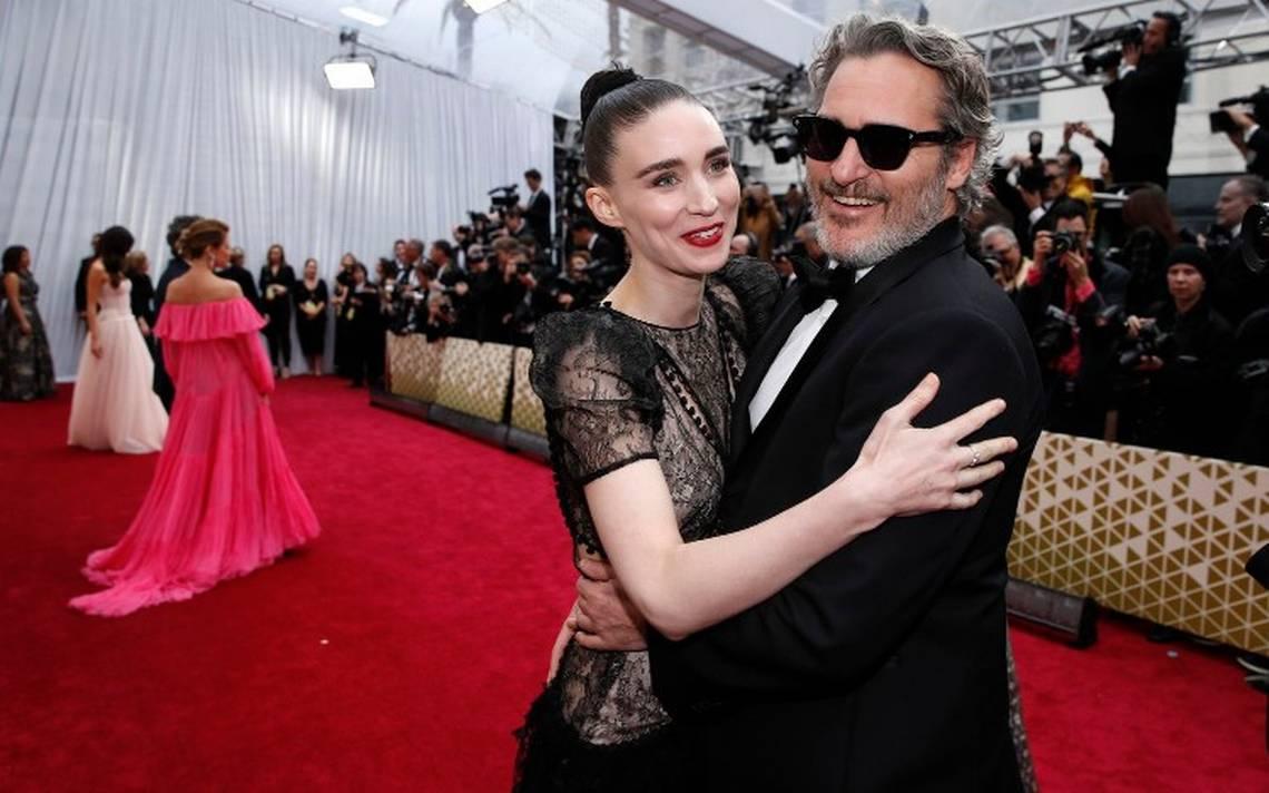 Joaquin Phoenix y Rooney Mara, una de las parejas del momento