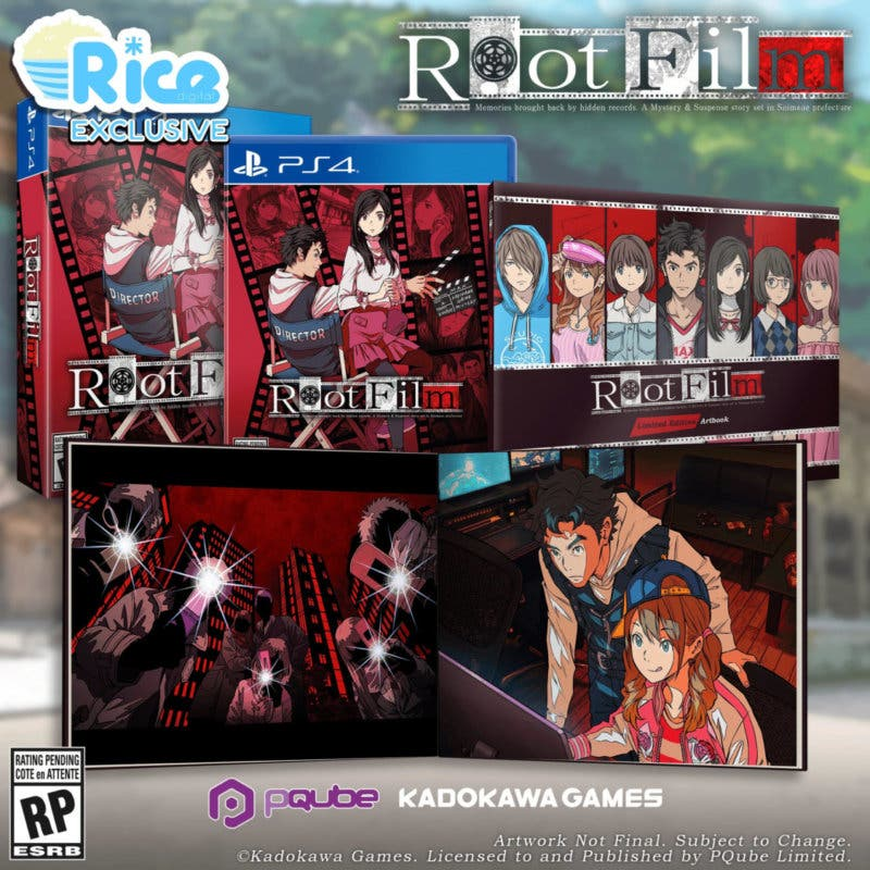 Root Film limited ps4