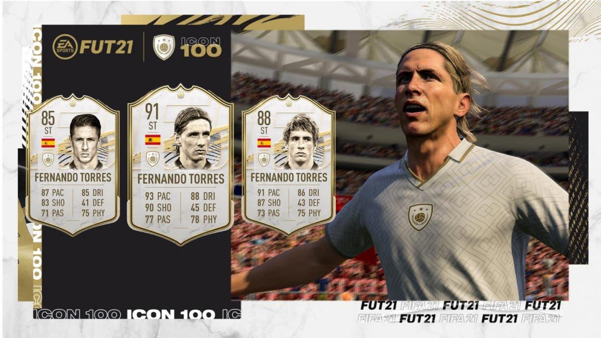 Fernando Torres Icono FIFA 21 Ultimate Team