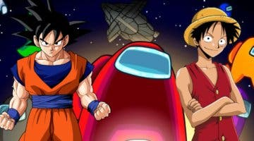 Imagen de Among Us se fusiona con Dragon Ball, One Piece y más gracias a estas animaciones de muerte