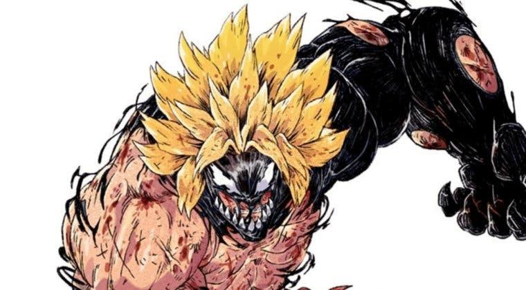 Imagen de Fusionan a personajes de Dragon Ball con Venom en un increíble arte