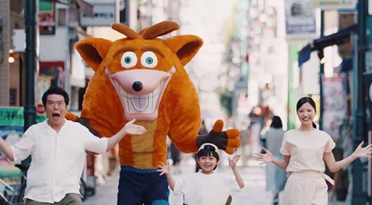 Imagen de Crash Bandicoot 4: It's About Time se promociona en Japón con un curioso spot para TV