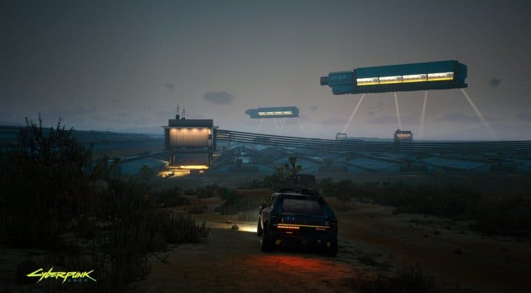 Imagen de Cyberpunk 2077 muestra las Badlands en una nueva imagen