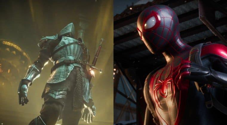 Imagen de Tamaño de Demon's Souls Remake y Marvel's Spider-Man: Miles Morales en PS5