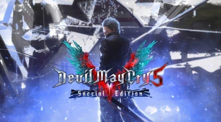 Imagen de Devil May Cry 5 Special Edition llega de lanzamiento a PS5