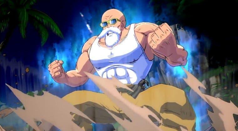 Imagen de Dragon Ball FighterZ luce el tráiler de lanzamiento del Maestro Roshi