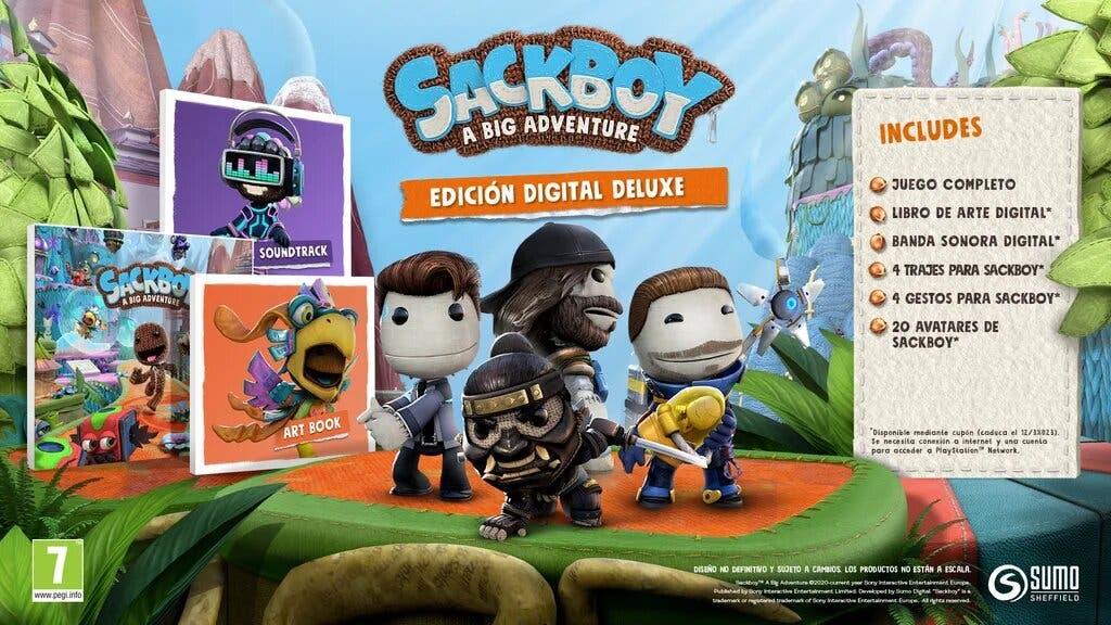 edicion digital deluxe sackboy