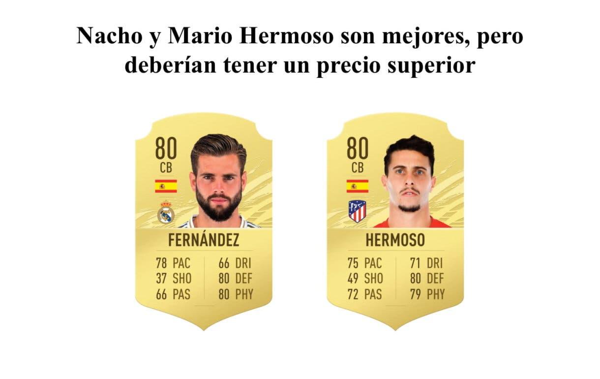 Nacho y Mario Hermoso FIFA 21 Ultimate Team